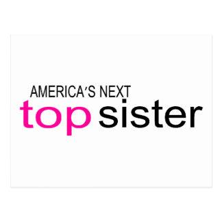 Americas Next Top Sister Postcard