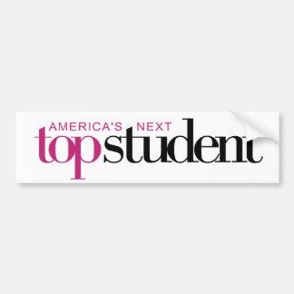 America's Next Top Student Bumper Sticker