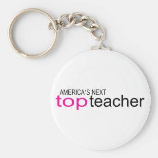 Americas Next Top Teacher Key Chain