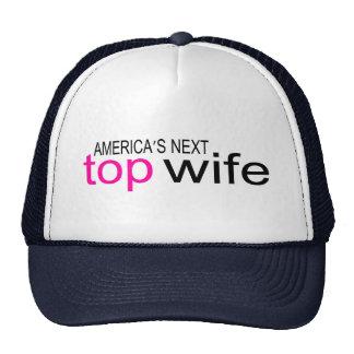 Americas Next Top Wife Mesh Hat