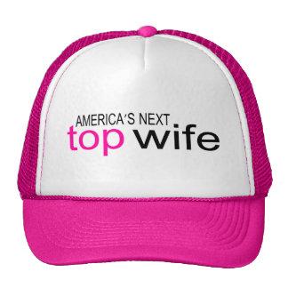 Americas Next Top Wife Trucker Hat