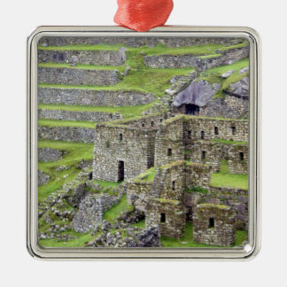Americas, Peru, Machu PIcchu. The ancient 2 Christmas Ornament