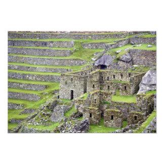 Americas, Peru, Machu PIcchu. The ancient 2 Photo Print