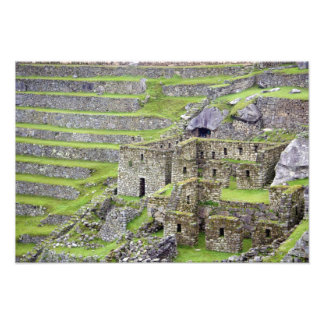 Americas, Peru, Machu PIcchu. The ancient 2 Photographic Print