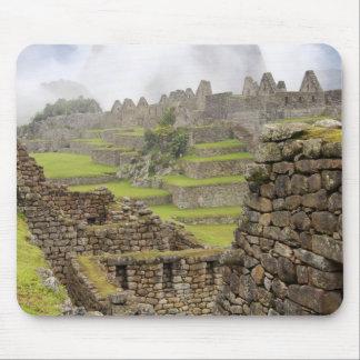 Americas, Peru, Machu PIcchu. The ancient Mouse Mat
