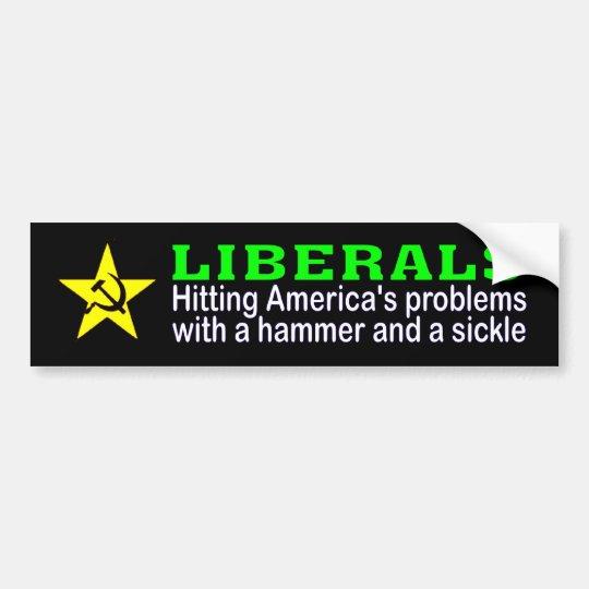 americas problems bumper sticker