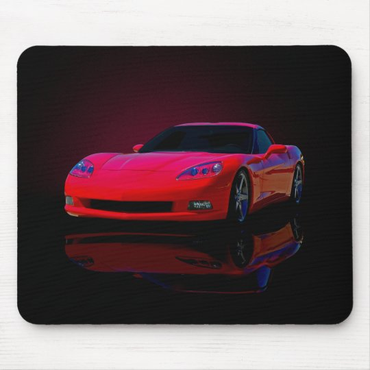 Americas Sports Car Mouse Mat