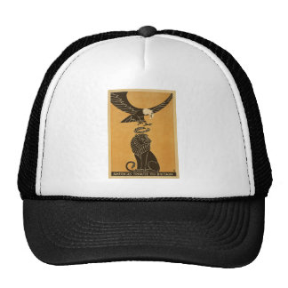 Americas Tribute To Britain WWI Britain Propaganda Cap