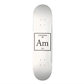 Americium 20 Cm Skateboard Deck