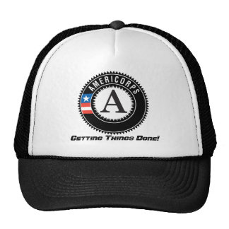 americorps logo, Getting Things Done! Trucker Hats