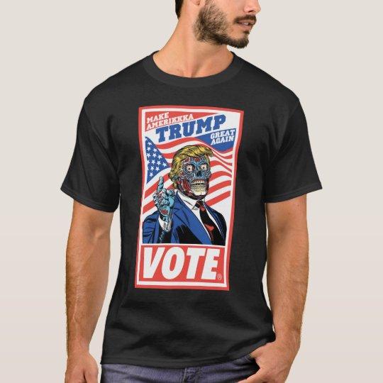 AmeriKKKa VOTE TRUMP T-Shirt