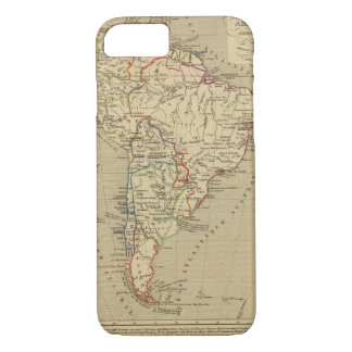 Amerique Meridionale en 1840 iPhone 8/7 Case