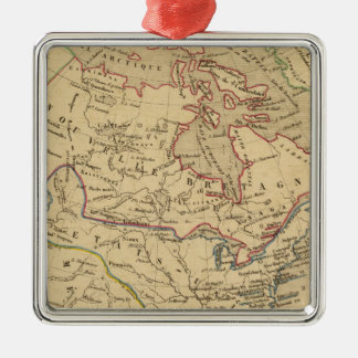 Amerique Septentrionale en 1840 Christmas Ornament