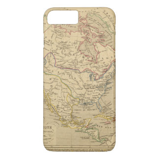 Amerique Septentrionale en 1840 iPhone 8 Plus/7 Plus Case