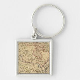 Amerique Septentrionale en 1840 Key Ring