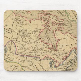 Amerique Septentrionale en 1840 Mousepad