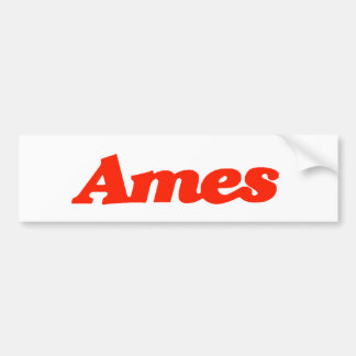 Ames Bumper Sticker