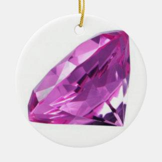 Amethyst 01, February, Birthstone Christmas Ornament