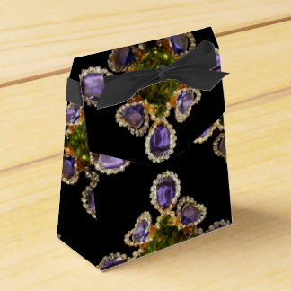 Amethyst and Peridot Party Favour Boxes