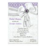 Amethyst Bridal Shower Invitation