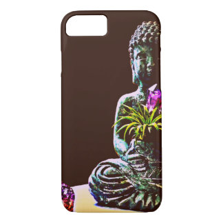 Amethyst Buddha Barely There Apple iPhone Case