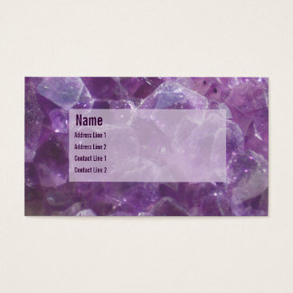 Amethyst Business Card