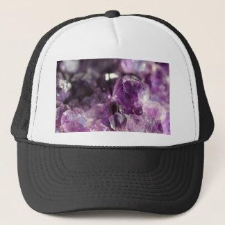Amethyst Cluster Trucker Hat
