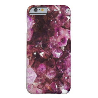 Amethyst Crystal design Barely There iPhone 6 Case