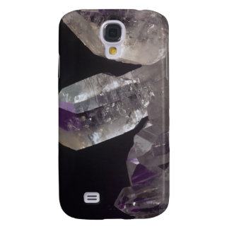 Amethyst Crystals Galaxy S4 Case