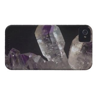 Amethyst Crystals iPhone 4 Case