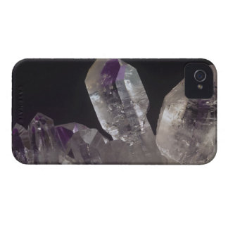 Amethyst Crystals iPhone 4 Case