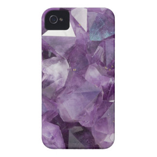 Amethyst Crystals iPhone 4 Case-Mate Case