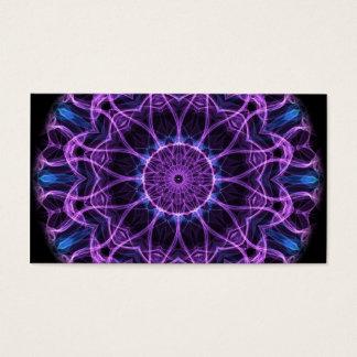 Amethyst Desire Kaleidoscope Business Card