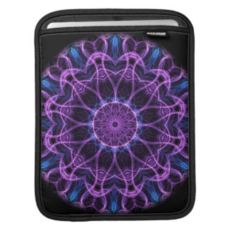 Amethyst Desire Kaleidoscope iPad Sleeve