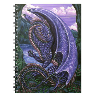 Amethyst Dragon Notebook