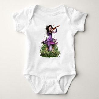 Amethyst Fairy ~ Sweet Melody Baby Bodysuit