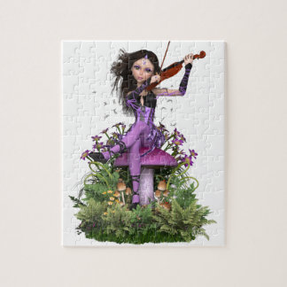 Amethyst Fairy ~ Sweet Melody Jigsaw Puzzle