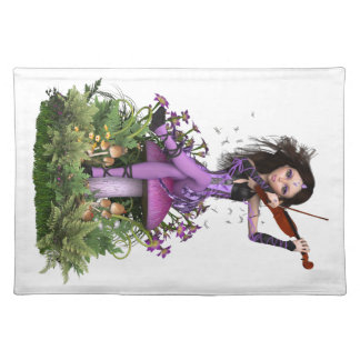 Amethyst Fairy ~ Sweet Melody Placemat