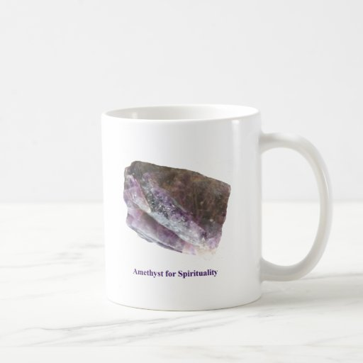 Amethyst for Spirituality Mug by IreneDesign2011