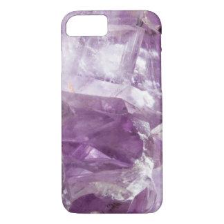 Amethyst Gemstone Crystalline Quartz Purple Lilac iPhone 8/7 Case