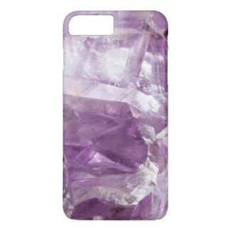 Amethyst Gemstone Crystalline Quartz Purple Lilac iPhone 8 Plus/7 Plus Case