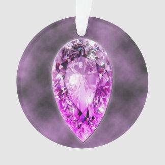 Amethyst Gemstone Ornament