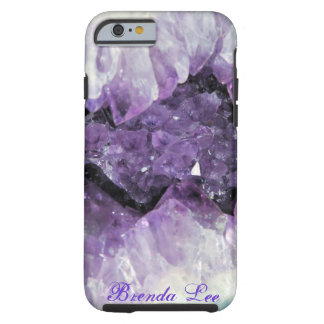 Amethyst Geode 3D iPhone 6 case *