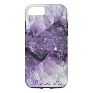 Amethyst Geode 3D iPhone 7 case *
