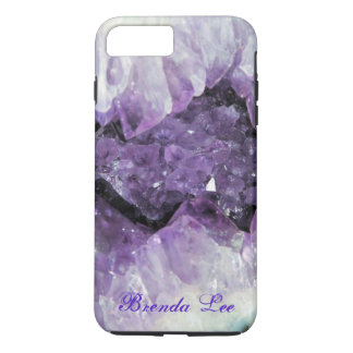 Amethyst Geode 3D iPhone 7 Plus case Personalize*