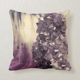 Amethyst Geode Cushion