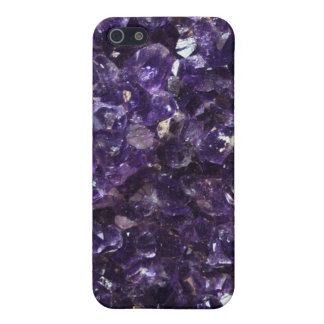 Amethyst Geode iPhone 5/5S Cover