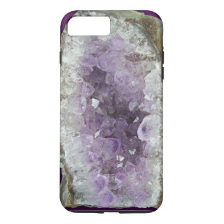Amethyst Geode iPhone 7 Plus, Tough Case