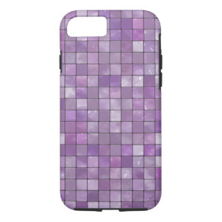Amethyst Geometric Decorative Tile Pattern iPhone 7 Case