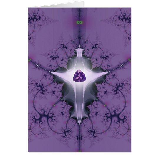 Amethyst Goddess note card